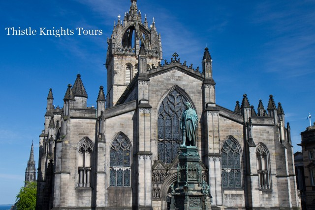 £4 for a 90 minute guided tour of St Giles Cathedral, or £7 for 2 people with Thistle Knights Tours, Edinburgh – save up to 58%