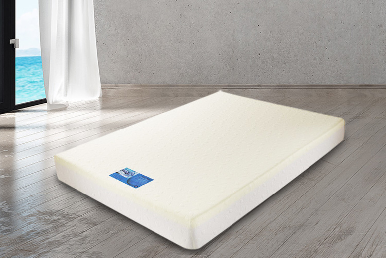 £59 instead of £329.01 (from Dining Tables) for a double extra-deep cooling orthopaedic memory foam mattress, with a limited number available for £49, or £69 for a king mattress – save up to 85%