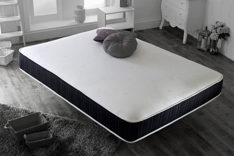 From £44 instead of £299.99 (from That Mattress) for a single open coil memory mattress, or £49 for a double mattress, or £54 for a small double or double mattress, or £69 for a king mattress, or £99 for a super king mattress  – save up to 85%