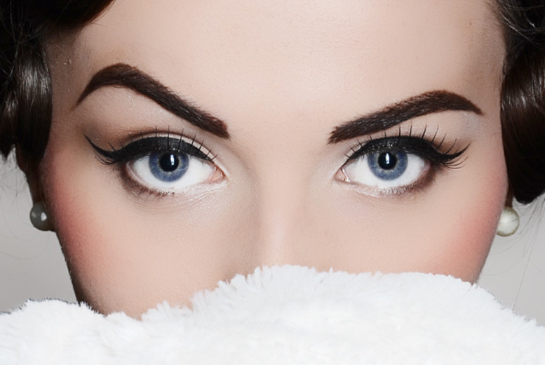 £19 for 3D brows and a 3/4 set of semi-permanent lashes at the Sanctuary Suite, Congleton
