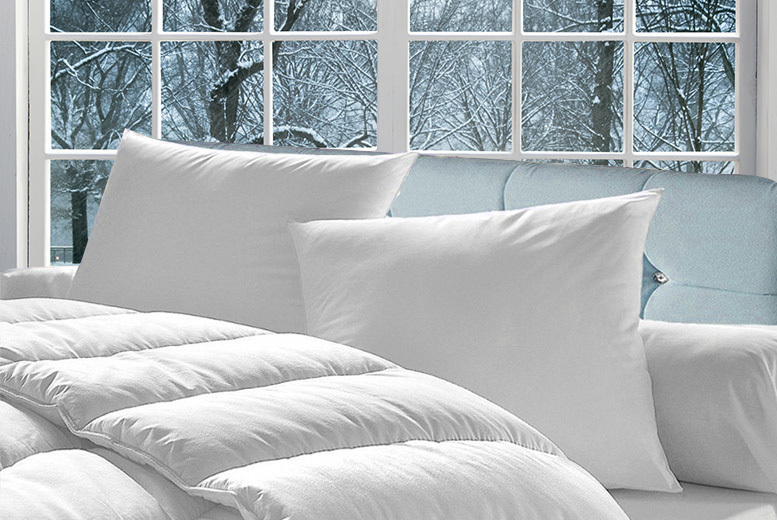 From £16.99 for a 16.5 tog duvet and pillow set from Direct Warehouse Ltd – save up to 66%