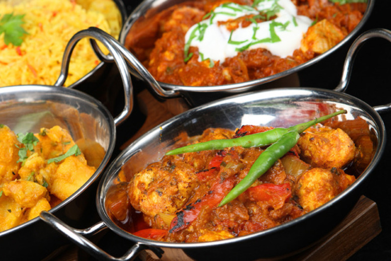 £14 instead of up to £37.30 for a 2-course Indian meal for 2, £18 inc. a glass of wine each at The Viceroy, Cheshire - save up to 62%