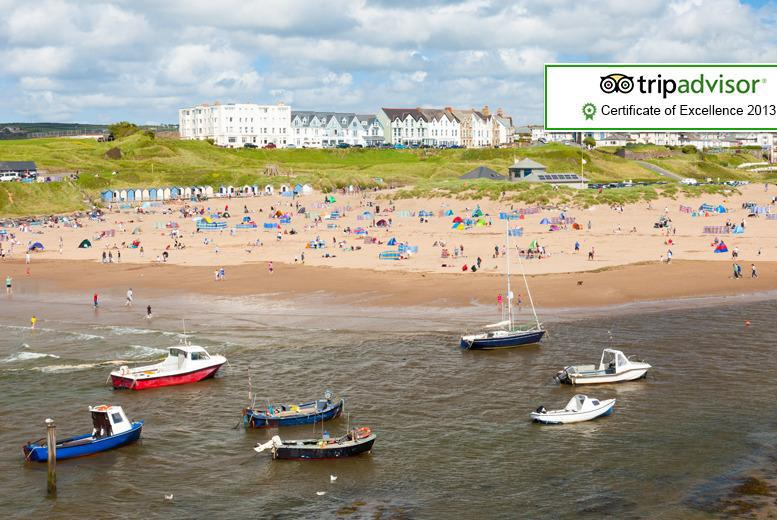 £69 instead of up to £168 (at The Edgcumbe, Bude) for a 2nt break for 2 people including daily cooked breakfast - save up to 59%