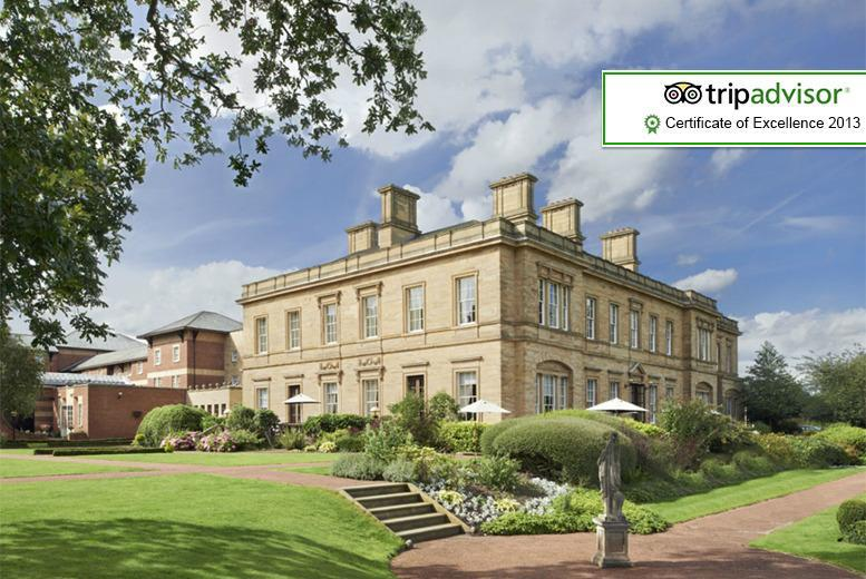 From £99 for a 1-night luxury Yorkshire break for 2 at Oulton Hall Hotel inc. breakfast, 2-course dinner and bottle of wine - save up to 55%