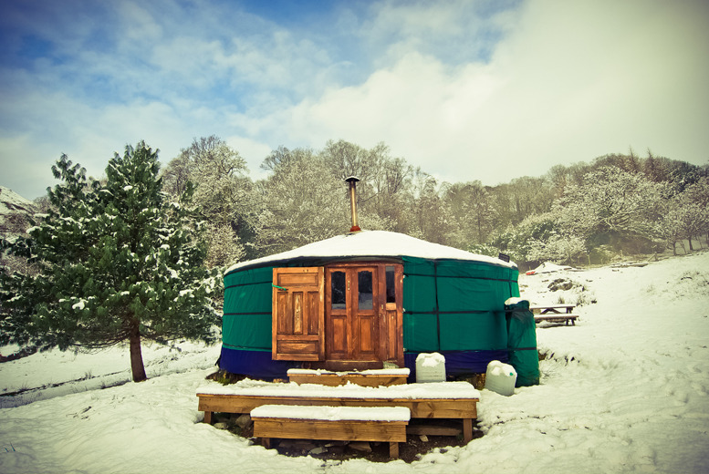 £149 (with Full Circle Luxury Lake District Yurts) for a 4nt luxury Lake District glamping break for up to 6, £225 for a 3nt weekend break - save up to 59%