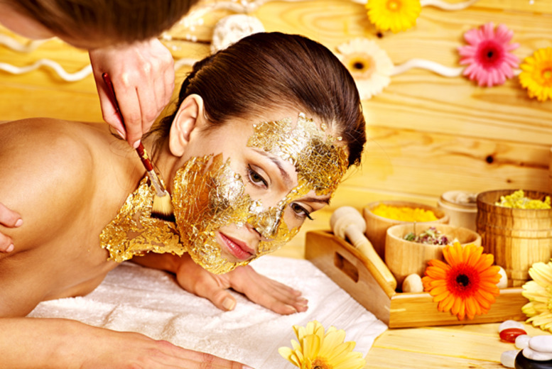 £19 instead of up to £75 for a gold facial and 30-minute Indian head massage at Nicky Salon, Kensington – save up to 75%