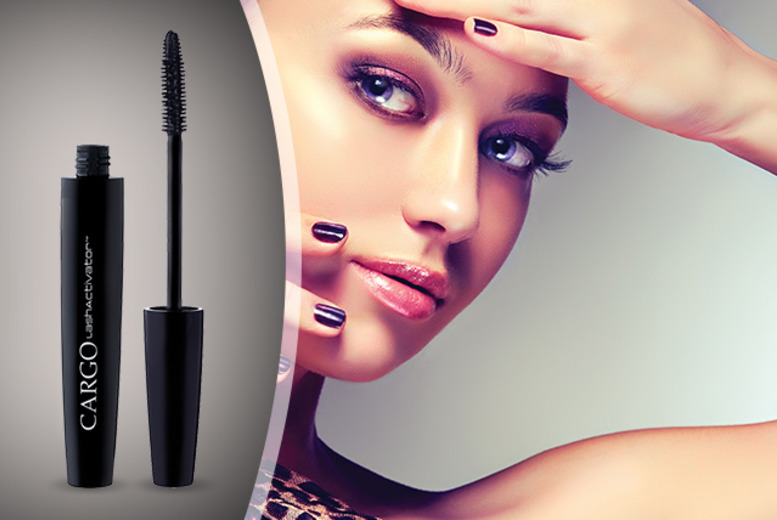 £7.95 instead of £24 for a Cargo LashActivator™ Triple Action Black Mascara from Wowcher Direct - save 67% + delivery is included!