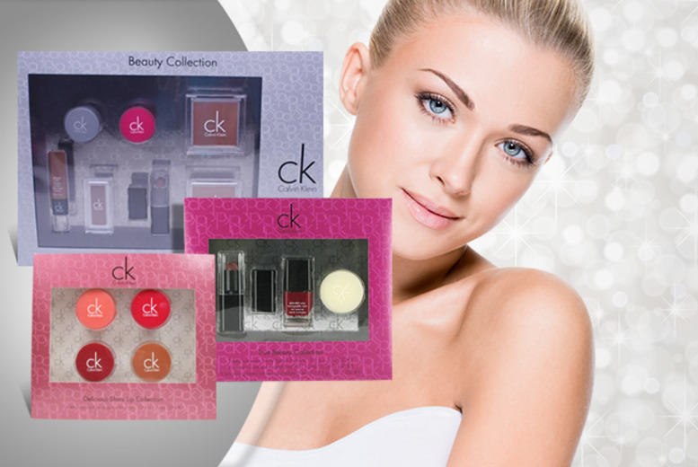 £6.99 instead of £34.99 (from Look 'N' Style) for a Calvin Klein 3-piece makeup set, £7.99 for 4-piece or £12.99 for 7-piece - save up to 80%