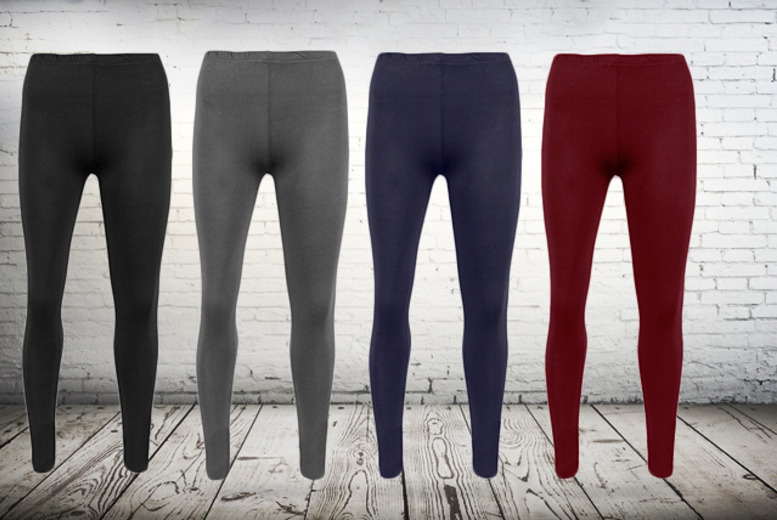 £12 instead of £25.98 (from MYO Fashion) for 2 pairs of leggings in a choice of 4 colours - save 54% + DELIVERY IS INCLUDED