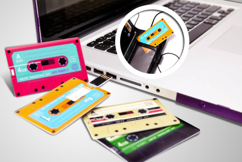 £10 instead of £17.99 (from Midasity) for a mixtape memory card USB - save 44% + DELIVERY INCLUDED