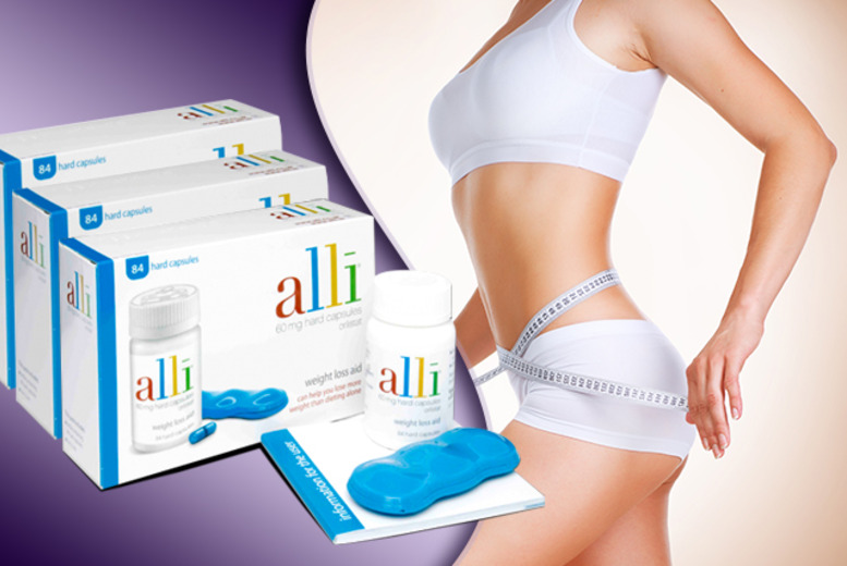 £31.99 (from ClearChemist) for a 1-month* supply of Alli weight management supplements, £63.99 for 2 months*, or £94.99 for 3*- save up to 39%