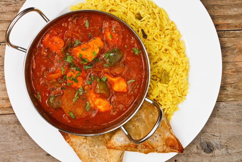 £19 instead of up to £53.65 for a 2-course Indian meal for 2 inc. a bottle of wine at Jamdani restaurant, City of London- save up to 65%