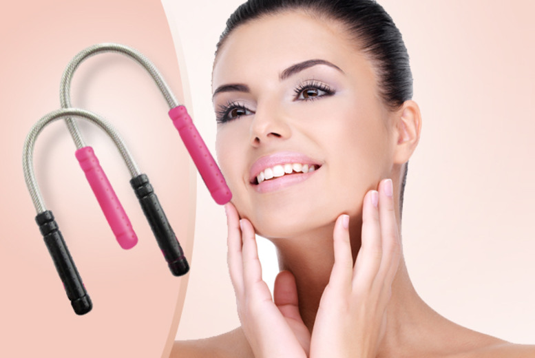 £8 instead of £20.99 (from Quick Style) for a set of two facial threading tools - get silky-smooth skin, save 62% + DELIVERY IS INCLUDED!