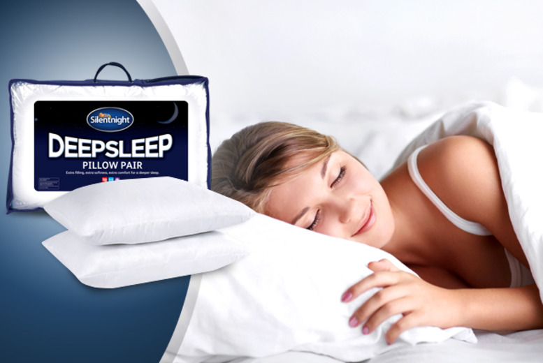 £14 instead of £30 (from Chums) for two Silent Night Deep Sleep pillows, £22 for four - save up to 53% + DELIVERY INCLUDED