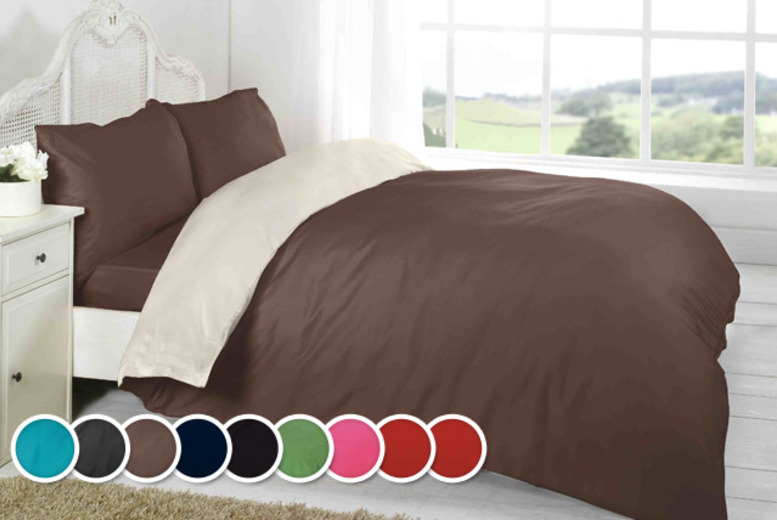 £10 (from Groundlevel.co.uk) for a single duvet set, £12 for a double, £14 king, £17 super king - save up to 71%
