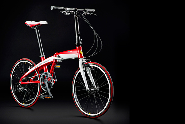 £499.99 (from Avocet Sport) for a 9-speed Ferrari Scuderia folding bike - save 38% + DELIVERY INCLUDED!