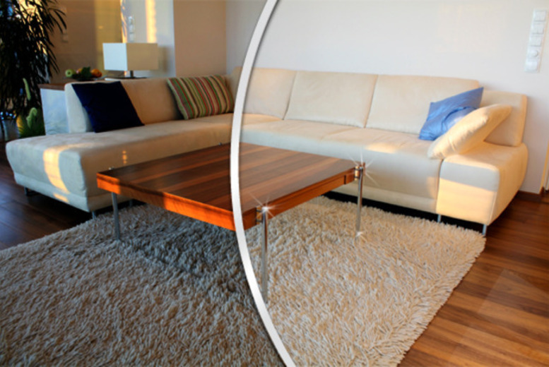 £29.99 for a £100 carpet & upholstery cleaning voucher, £85 for a £300 voucher from 2G Cleaning Services, Sale - save up to 70%