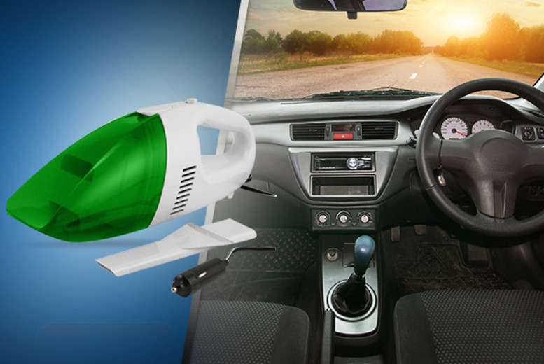 £10 instead of £27.49 (from Gadgets and More) for an in-car vacuum - save 64%