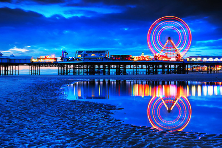 £49 instead of up to £130 (at South Beach Hotel, Blackpool) for a 2-night stay for 2 inc. breakfast and lunch - save up to 62%