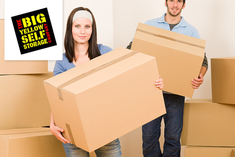 £5 for a £50 voucher (from Big Yellow Self Storage Company) to spend at any one of their 76 nationwide storage sites - save 90%