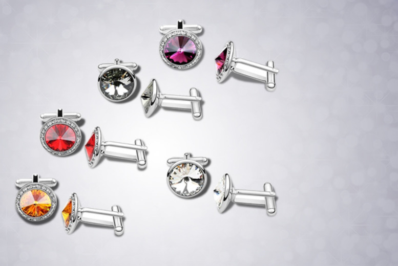 £9 instead of £69.99 (from Marcus Emporium) for a pair of Swarovski Elements cufflinks - save a smart 87%