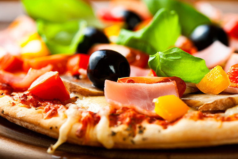 £12 instead of up to £27 for a pizza and wine lunch for 2 at Café Bella Maria, Victoria - save up to 56%