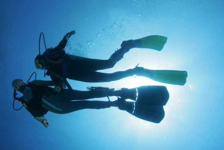 £10 for a scuba taster session, or £89 for a PADI Open Water Referral Course at Lodge Scuba, available at 5 locations