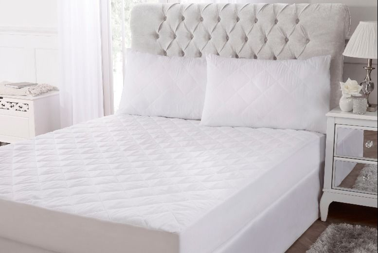 From £10 for a bamboo mattress and pillow protector from Cascade Home  – save up to 71%