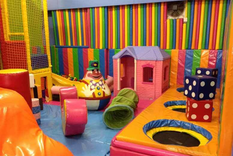 £9 instead of up to £19 for three hours of soft play for two adults and two kids with sandwiches, drinks and a snack for each child from Clownaround, Edinburgh - save up to 53%