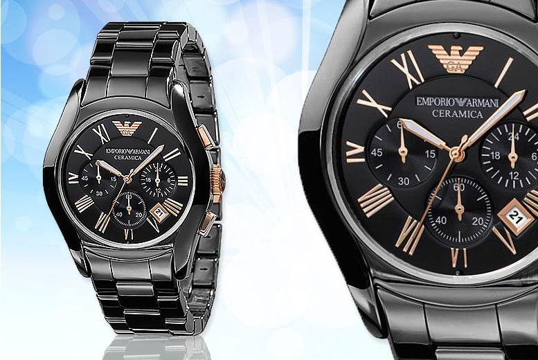 £149 instead of £492.01 (from Wristy Business) for an Emporio Armani watch - save 70%