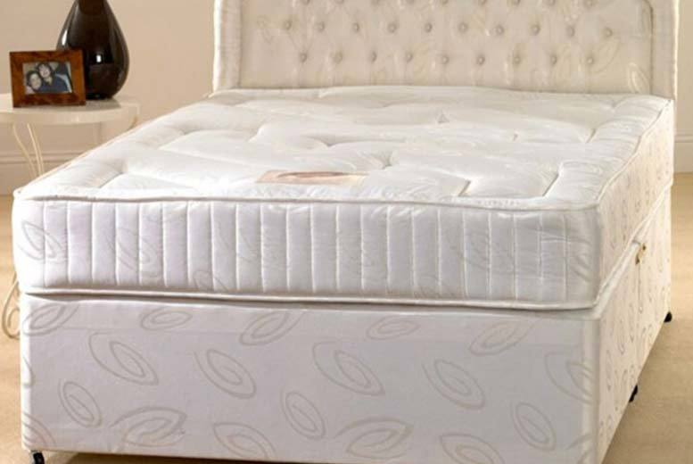 Deluxe Extra Deep Quilted Bonnell Sprung Mattress