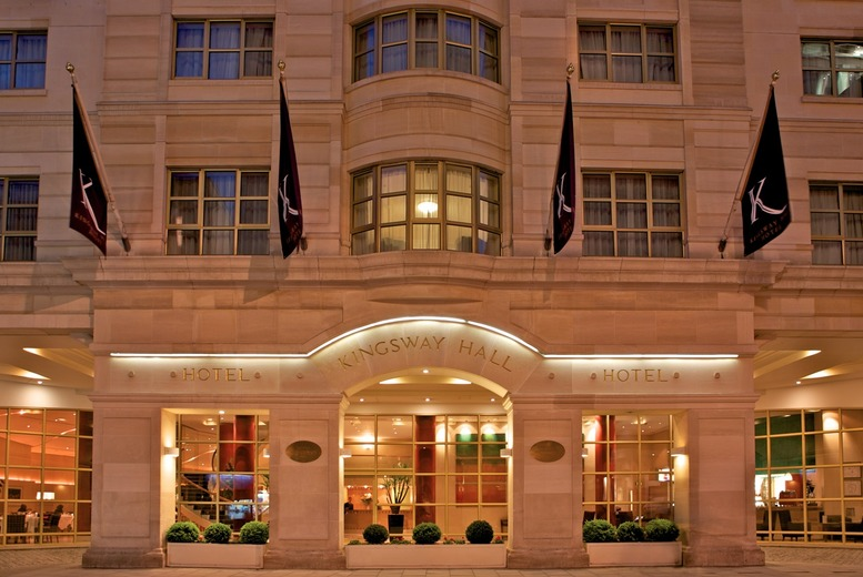 £32 for a two-course meal for 2 people including a glass of wine each at Kingsway Hall Hotel, Covent Garden