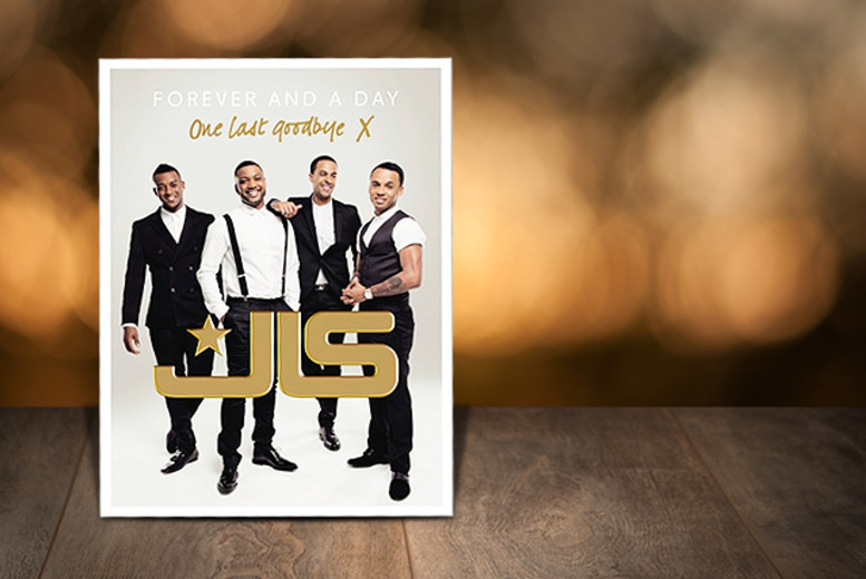 £8 (from Random House) for a hardback copy of 'JLS: Forever and a Day'