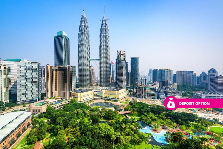 From £799pp (from Weekender Breaks) for a 10-night 4* Kuala Lumpar city break and Penang, Malaysia beach escape with flights and internal transfers, or pay a £199pp deposit today - save up to 25% from Weekender Breaks