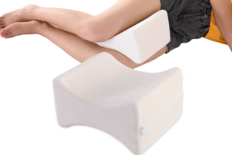 £7.99 instead of £19.99 (from Fusion Online) for an orthopaedic memory foam leg pillow, or £14.99 for a pair of pillows – save up to 60%