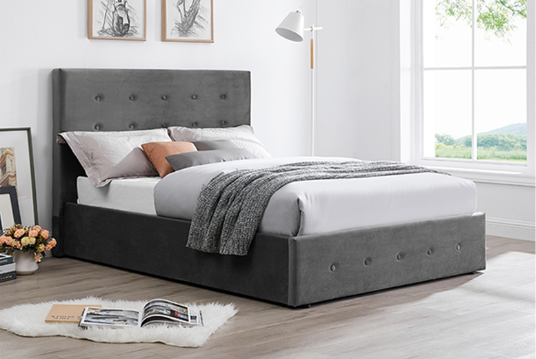 From £149 (from The Furniture Department) for a double Paloma bed frame – choose your option and colour