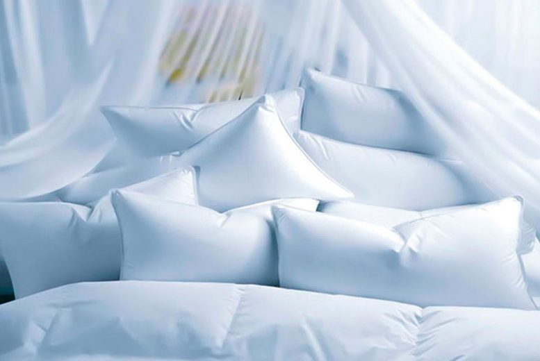 £19.99 instead of £89.99 (from Direct Warehouse) for 10 super bounce back pillows – save 79%