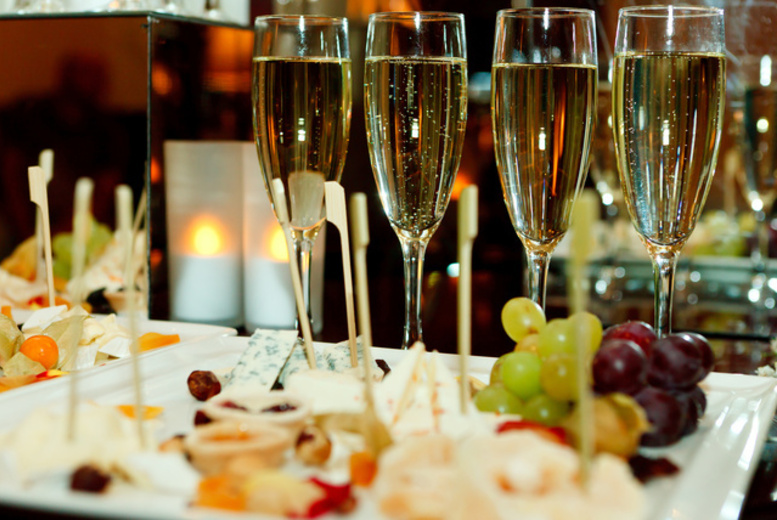 £12 instead of £44 for four glasses of Champagne and a sharing platter between two people at Josephine's, Derby - save 73%
