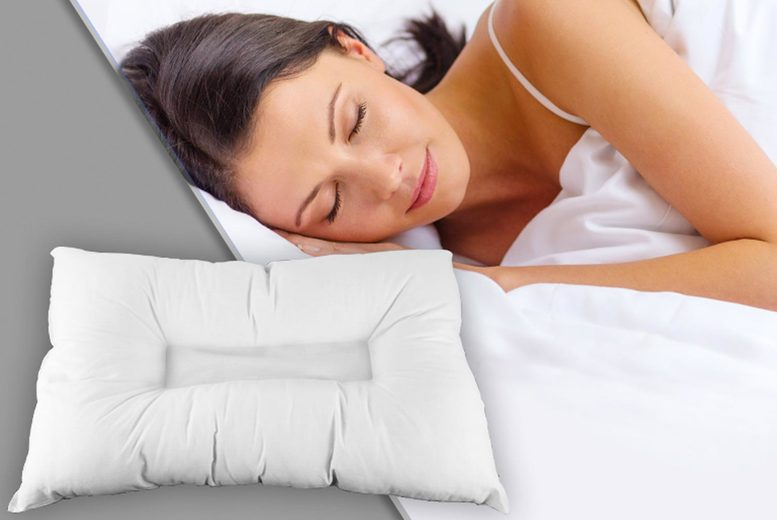 £7 instead of £19.99 (from Direct Warehouse) for an anti-snore pillow, £14 for two or £21 for four! – save 65%