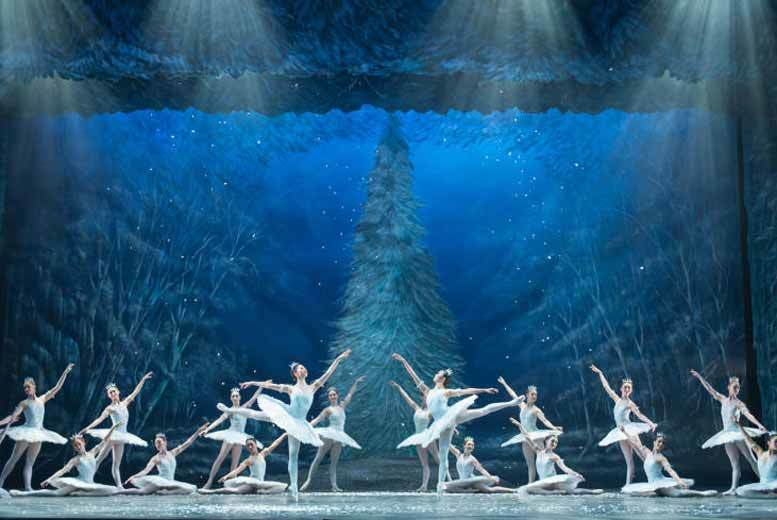 From £39 for an Upper Circle 3 ticket to the Nutcracker, £45 for an Upper Circle 2 ticket or £59 for a Dress Circle 3 ticket with Champagne from London Theatre Direct