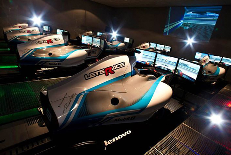 £17 instead of £33.95 for an Formula 1 race simulator experience at Lets Race, Surrey - put the pedal to the metal and save up to 50%