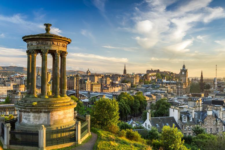From £49 (at Britannia Hotel, Edinburgh) for a 1-night stay for 2 people including a burger, beer and breakfast each - save up to 45%