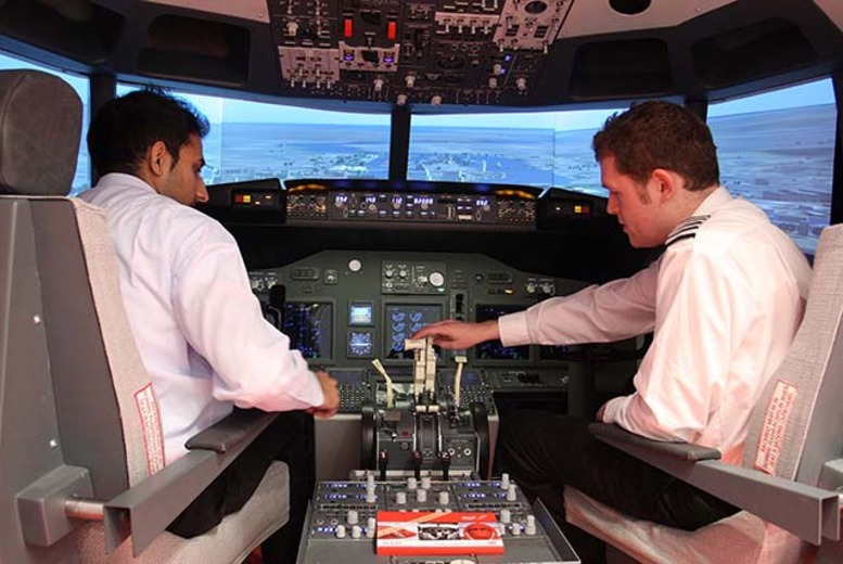 £54.50 instead of £109 for a 30-minute flight simulation experience with iPilot, Shepherd's Bush, £104.50 for 60 minutes - save up to 50%