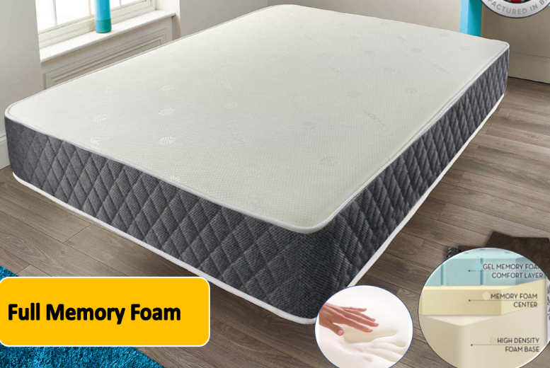 From £259 for an otrixx hybrid gel memory foam mattress from Dreamtouch Mattresses LTD – save up to 69%