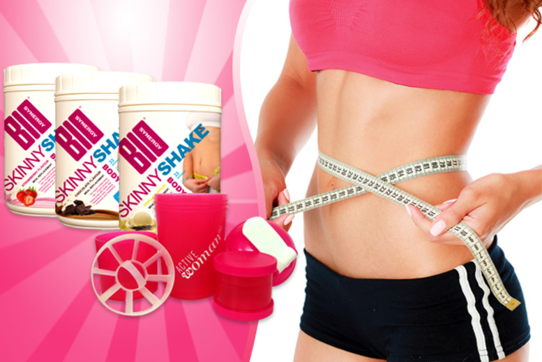 £19 (from Bio-Synergy Ltd) for a Skinny Shake meal replacement shake and shaker