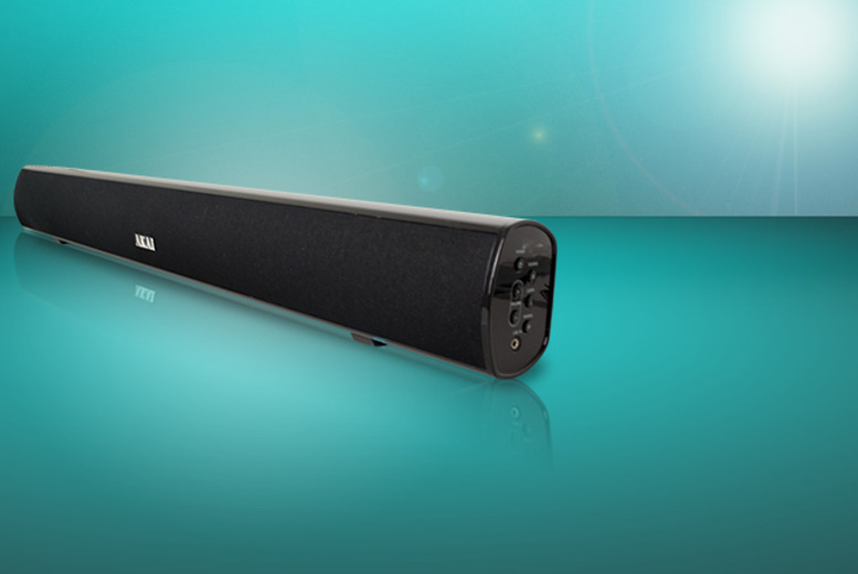 £79.99 instead of £149.99 (from AMS Global) for an Akai Bluetooth stereo soundbar with built-in subwoofer - save 47%