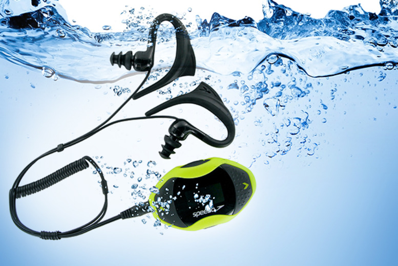 £39.99 (from Speedo) for an Aquabeat underwater 2GB MP3 player, £69 for 4GB