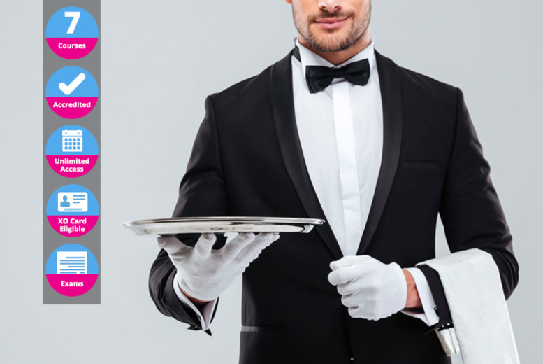 £29 (from New Skills Academy) for an online accredited hospitality diploma