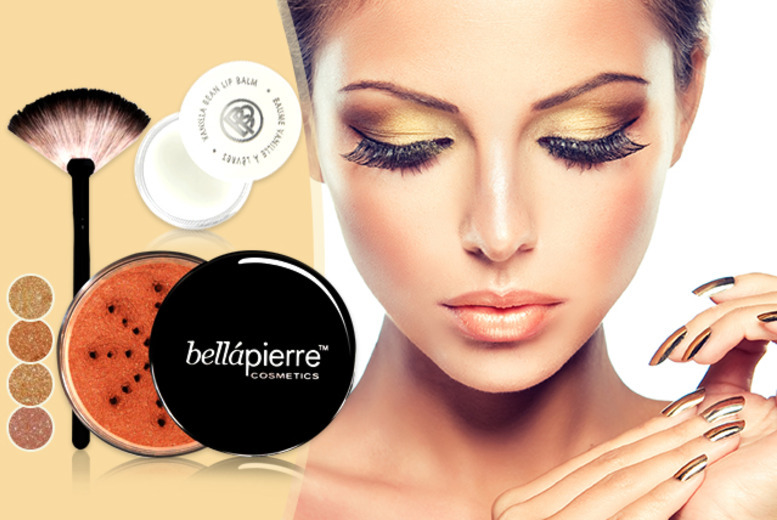 £7.99 (from Bellapierre Cosmetics) for a bronzing set inc. brush and bronzer, £9.99 for brush, bronzer, and lip balm - save up to 84%