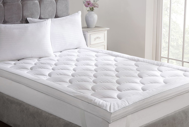 £46 (from cascadehome) for a double mattress, £52 for a king, £60 for a super king!